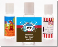 Rock Star Baby Boy Skull - Personalized Baby Shower Hand Sanitizers Favors