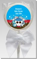 Rock Star Baby Boy Skull - Personalized Baby Shower Lollipop Favors
