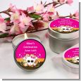Rock Star Baby Girl Skull - Baby Shower Candle Favors thumbnail