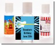 Rock Star Guitar Blue - Personalized Birthday Party Hand Sanitizers Favors thumbnail