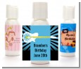 Rock Star Guitar Blue - Personalized Birthday Party Lotion Favors thumbnail
