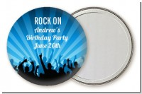 Rock Band | Like A Rock Star Boy - Personalized Birthday Party Pocket Mirror Favors