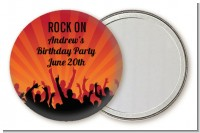 Rock Band | Like A Rock Star Girl - Personalized Birthday Party Pocket Mirror Favors
