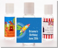 Rocket Ship - Personalized Baby Shower Hand Sanitizers Favors