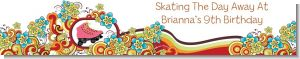 Roller Skating - Personalized Birthday Party Banners