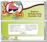 Roller Skating - Personalized Birthday Party Candy Bar Wrappers