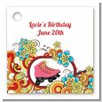 Roller Skating - Personalized Birthday Party Card Stock Favor Tags thumbnail