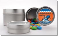 Rollerblade - Custom Birthday Party Favor Tins