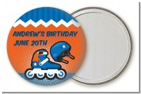 Rollerblade - Personalized Birthday Party Pocket Mirror Favors