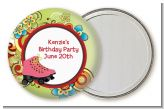 Roller Skating - Personalized Birthday Party Pocket Mirror Favors