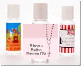 Rosary Beads Pink - Personalized Baptism / Christening Hand Sanitizers Favors