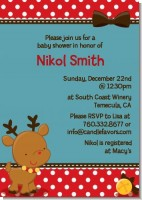 Rudolph the Reindeer - Christmas Invitations