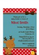 Rudolph the Reindeer - Christmas Petite Invitations thumbnail