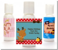 Rudolph the Reindeer - Personalized Christmas Lotion Favors
