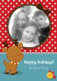 Rudolph the Reindeer - Personalized Photo Christmas Cards thumbnail