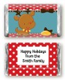 Rudolph the Reindeer - Personalized Christmas Mini Candy Bar Wrappers thumbnail