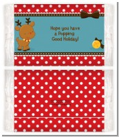 Rudolph the Reindeer - Personalized Popcorn Wrapper Christmas Favors