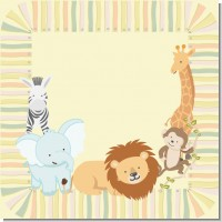 Safari Baby Shower Theme