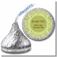 Sage Green - Hershey Kiss Bridal Shower Sticker Labels thumbnail