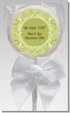Sage Green - Personalized Bridal Shower Lollipop Favors