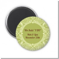 Sage Green - Personalized Bridal Shower Magnet Favors