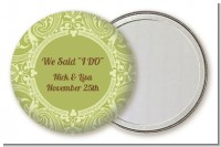 Sage Green - Personalized Bridal Shower Pocket Mirror Favors