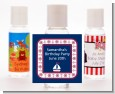 Sailboat Blue - Personalized Baby Shower Hand Sanitizers Favors thumbnail