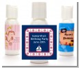 Sailboat Blue - Personalized Baby Shower Lotion Favors thumbnail