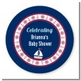 Sailboat Blue - Personalized Baby Shower Table Confetti thumbnail