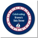Sailboat Blue - Personalized Baby Shower Table Confetti