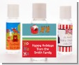 Santa And His Reindeer - Personalized Christmas Hand Sanitizers Favors thumbnail