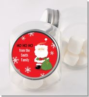 Santa Claus - Personalized Christmas Candy Jar