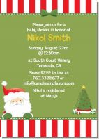 Santa Claus - Christmas Invitations