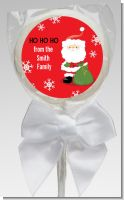 Santa Claus - Personalized Christmas Lollipop Favors