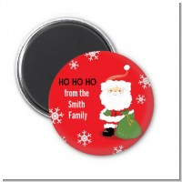 Santa Claus - Personalized Christmas Magnet Favors