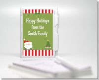 Santa Claus - Baby Shower Personalized Notebook Favor