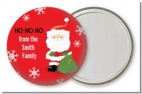 Santa Claus - Personalized Christmas Pocket Mirror Favors