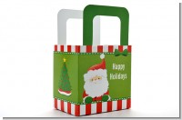 Santa Claus - Personalized Christmas Favor Boxes