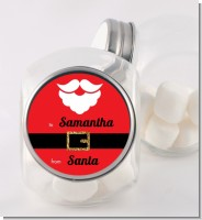 Santa's Belt - Personalized Christmas Candy Jar