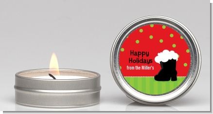 Santa's Boot - Christmas Candle Favors
