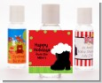 Santa's Boot - Personalized Christmas Hand Sanitizers Favors thumbnail
