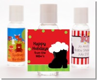 Santa's Boot - Personalized Christmas Hand Sanitizers Favors