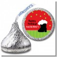 Santa's Boot - Hershey Kiss Christmas Sticker Labels thumbnail