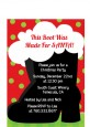 Santa's Boot - Christmas Petite Invitations thumbnail