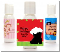 Santa's Boot - Personalized Christmas Lotion Favors