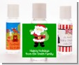Santa's Green Bag - Personalized Christmas Hand Sanitizers Favors thumbnail