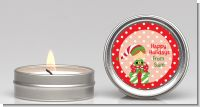 Santa's Little Elf - Christmas Candle Favors