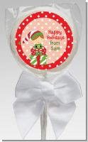 Santa's Little Elf - Personalized Christmas Lollipop Favors