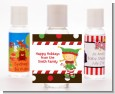 Santa's Little Elfie - Personalized Christmas Hand Sanitizers Favors thumbnail