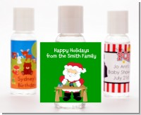 Santa's Work Shop - Personalized Christmas Hand Sanitizers Favors